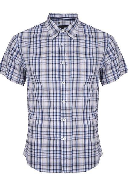 Oferta: Camisa Ellus Cuadros Multicolor